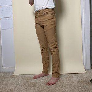 American Eagle Tan Extreme Flex Corduroy Pants